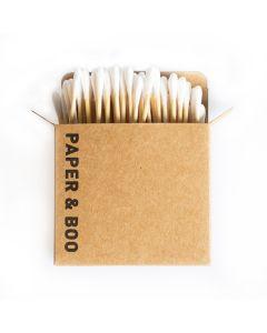 Bamboe wattenstaafjes (100 stuks)