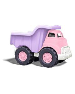 Roze kiepwagen