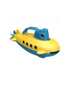 Duikboot - Geel met blauwe hendel