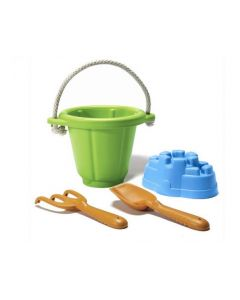 Green Toys - Setje met emmer, schep en hark